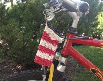 Bicycle Accessory Cell Phone Case Cell Phone Cozy Crocheted Bike Accessories