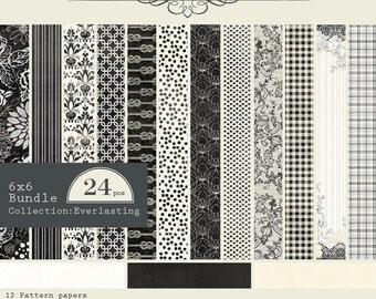 Authentique Everlasting  6x6 paper pad