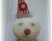 Jingle Belle, A Primitive, Folk Art, Snow girl, Whimsy, doll,  Pattern by Whimsical Endeavors