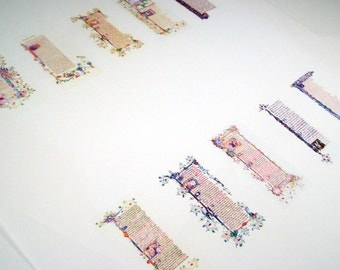 Miniature Medieval Scroll Pages Set of 10 1:12 Scale Downloadable Printable Scroll Pages Do It Yourself Dollhouse Scrolls