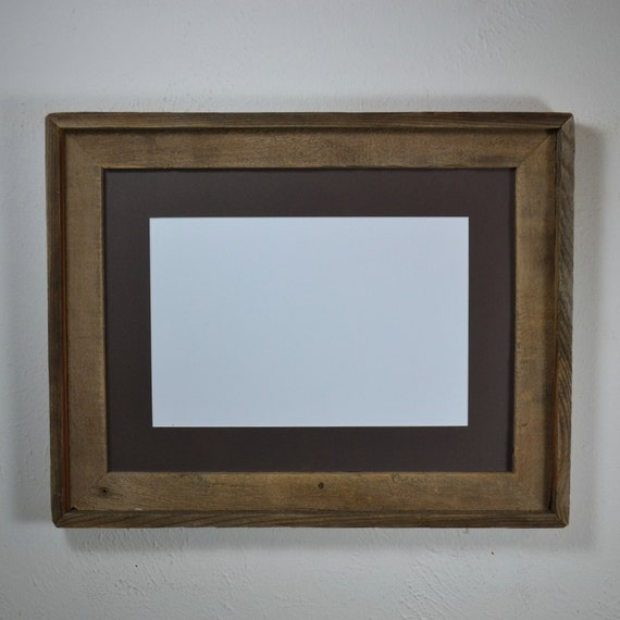 12x16 Picture Frame From Recycled Wood With By Barnwood4u