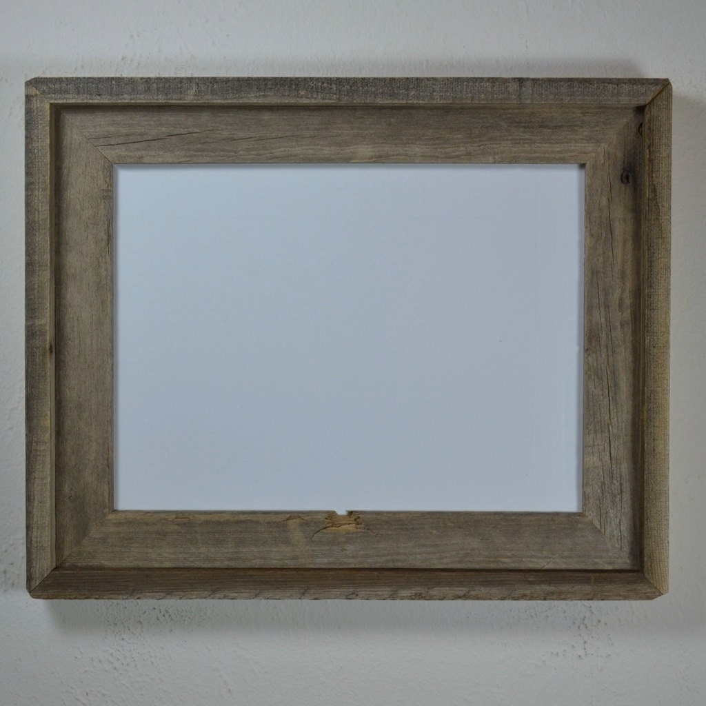 9 X 12 Picture Frame Earth Friendly Reclaimed Wood