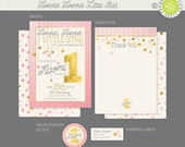 Twinkle Twinkle Little Star Birthday Printables