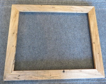 16 X 20 Curly Wormy Maple Picture Frame