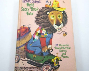 Richard Scarry's Best Story Book Ever Vintage 1950s or 1960s Children's Book