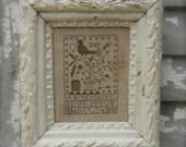 Sepia Sampler - cross stitch Paper Pattern from - ©Notforgotten Farm