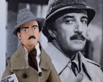 Peter Sellers Inspector Doll Miniature Character Fan Art