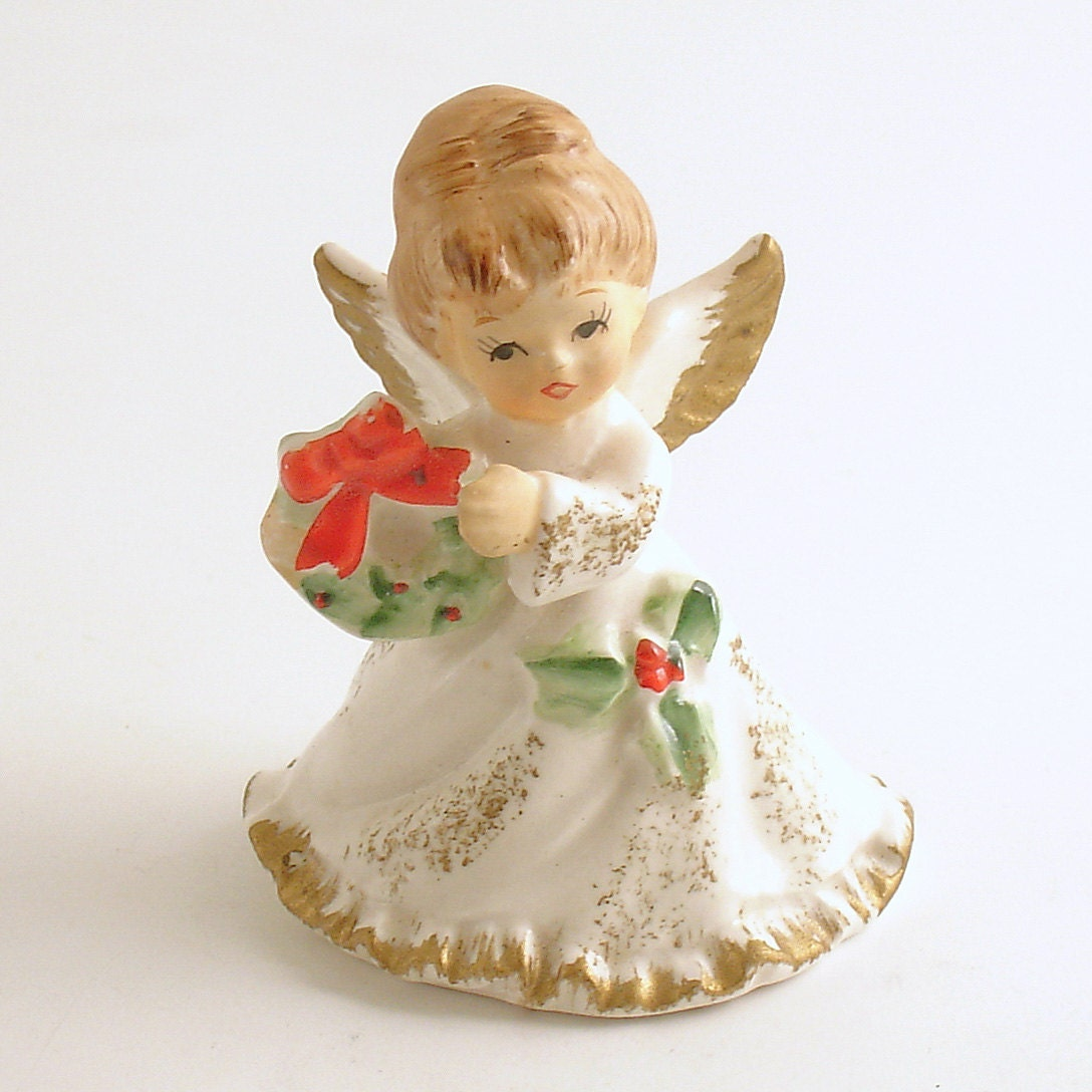 Vintage Christmas Decoration Christmas Angel By Efinegifts
