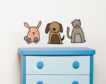Animapals - Wall Decal - Wall Sticker