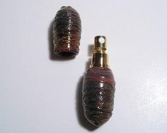 EMBLEM Lampworked Borosilicate Glass Perfume Atomizer