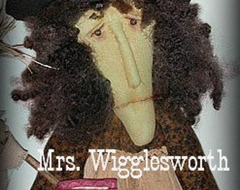 Mrs. Wigglesworth Primitive Witch Pattern