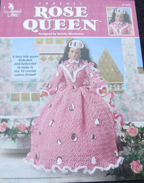 Annies Attic Crochet Patterns : Annies Attic Rose Queen Crochet Pattern Book by TheHowlingHag