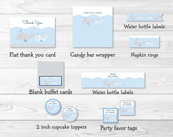 cute whale baby shower party package whale baby shower whale decorations blue u0026