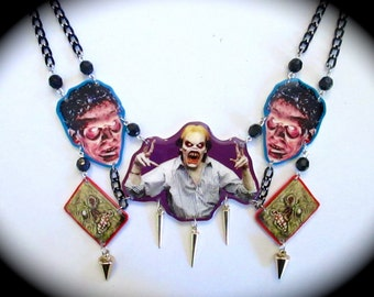 Evil Dead 2 Decorated Necklace