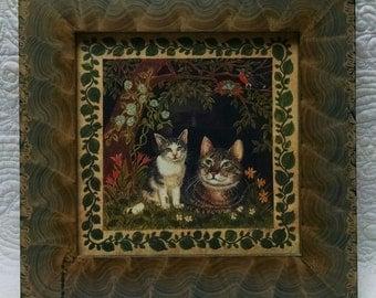 Claudia Hopf Cat PRINT