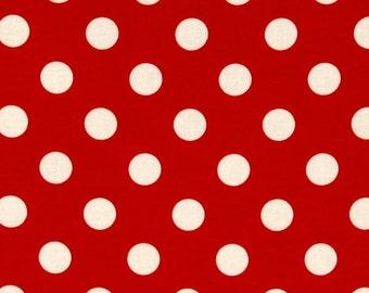 2 PC. TABLE NAPKINS- Red and white  Polka dot Napkins Set of 2 cotton eco-friendly home decor