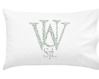 Personalized Pillowcase Washington University St. Louis Pillow Room Decor Football Graduation Gift