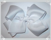 CUSTOM XL Extra Large KING Size Grosgrain Hair Bow - In Your Choice of Colors