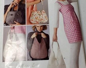 New Look 6841 Purse pattern uncut, Shoulder bag