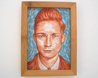 giclee portrait print 5x7