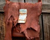Rio - moose hide and deerskin purse