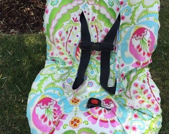 Toddler Car Seat Cover- Easy On & Off