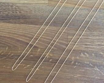 "14k Goldfill Cable Chain - Very Fine - 16"" Chain, 18"" Chain, 20"" Chain"