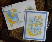 I Love You To The Moon Card & Envelope