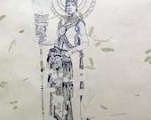 Urban Oracle Lithograph Print