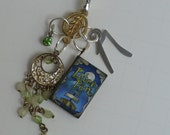 Peter Pan Book Key Chain