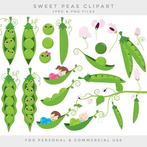 Peas in a pod clip art sweet peas clipart baby babies green