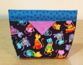 Quilted Snap Bag (SB031)