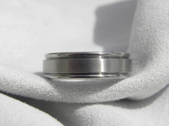 Titanium Ring, Mens Wedding Band, Wedding