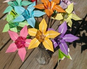Morning lilies - origami bouquet