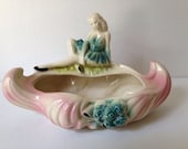 Vintage Bathing Beauty Planter