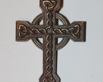 Large Bronze Celtic Cross