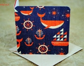 Mini Cards / Favor Cards / Birthday Cards / Nautical Cards / Thank You Cards / Gift Tags / Cards with Envelopes / Florist Cards / mad4plaid