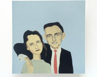 couple painting no.3 (print)