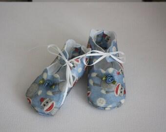 10% OFF Darling Babies Blue Felt Shoes