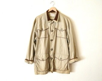 "1960's ""Williams"" Tan Western Style Cargo Jacket..."