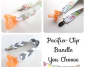 Baby Pacifier Clips - You choose - Baby - Universal Pacifier Clips