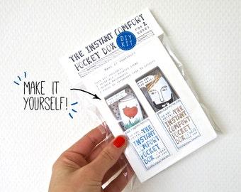 DIY kit - Blue:  for 2 Instant Comfort Pocket Boxes