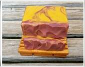 Sunkissed Handmade Soap - Citrus Blend with Orange Essential oil
