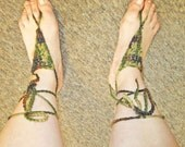 Bohemian Lace up Barefoot Sandals