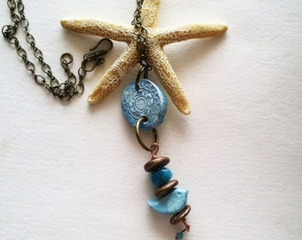 Aromatherapy Essential Oil Diffuser Jewelry Pendant Necklace Blue Bird Old World Vintage Antique Style
