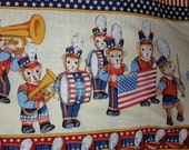 Yankee Doodle Bear by Bear With Me 2011 RJR Fabrics Cotton