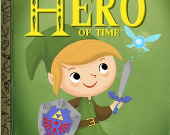 The Little Hero Of Time - 8x10 PRINT