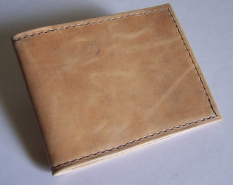 Leather Wallet - Desert Camo/Camouflage Leather - Bi-fold Wallet - Men's Leather Wallet