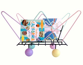 Summer Sale Amazing Memphis Style Large Scale Magazine Rack