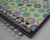 Kid Quote Journal with Purple Circles Cover